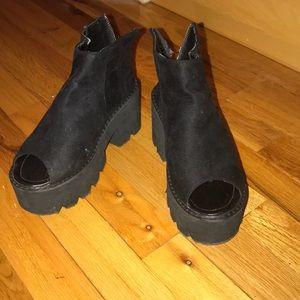 Nasty Gal Platform Sandals
